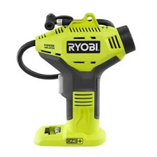 Ryobi 18V Cordless Portable Air Compressor Tire Inflator Handheld Tyre Bike Pump