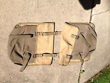 WWII USGI saddle Bags WLA WW2