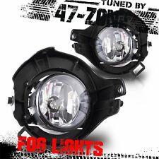 Stealth For Nissan Frontier Pathfinder Clear Lens Chrome Housing Fog Lights Lamp