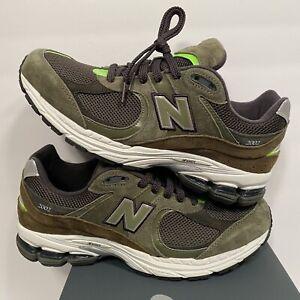 New Balance 2002 Olive Camo Green 2002R NB ML2002R G ML2002RG D sz 10 Black Grey