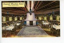 Pinecrest Mountain Resort CRESTLINE CA—Vintage Linen Interior Cabin Fireplace