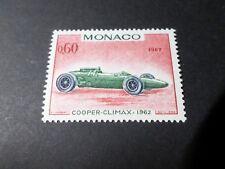 MONACO 1967, timbre 718, AUTOMOBILE, VOITURE, COOPER CL GRAND PRIX, neufs** MNH