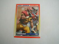 1990 SCORE JUNIOR SEAU ROOKIE CARD #302 SAN DIEGO CHARGERS RC