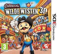 Carnival Wild West 3D - for Nintendo 3DS & 2DS - NEW! Wilde Westen - Nieuw!