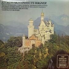 Stokowski(Vinyl LP)Conducts Wagner-Decca-SPA 737-UK-Ex/VG+