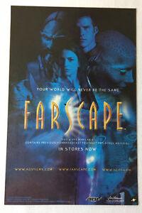 2001 tv show ad page ~ FARSCAPE