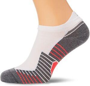 Under Armour Speedform 2.0 No Show Socks - White