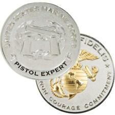 USMC Pistol Expert Challenge Coin