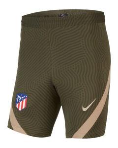 Atletico Madrid Nike Pantaloncini allenamento Shorts Dry Strike Verde 2020 21