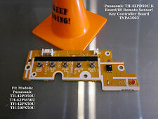 Panasonic TH-42PD50U K Board/IR Remote Sensor/Key Controller Board TNPA3603