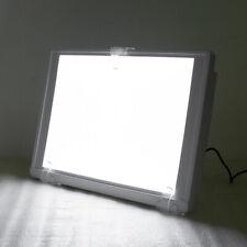 White Dental X Ray Film Viewer Illuminator A4 One Side Light Box Panel Full View