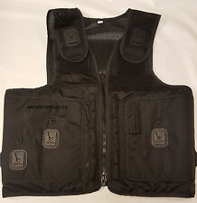 Ex Police Tactical Vest with Pouches & Klickfast Docks 34''-44'' Security (A276)
