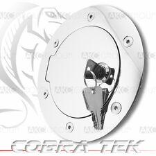 Cobra Tek For Dodge Dakota Ram Key Lock Chrome Plated Aluminum Fuel Gas Door