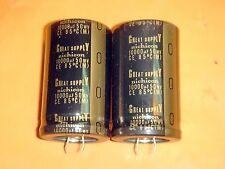 2 X NICHICON GREAT SUPPLY 10000uF 50V ELECTROLYTIC CAPACITOR FOR HI-END AUDIO