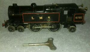 Hornby O Gauge Clockwork No.2 Special Black LMS 4-4-2 Tank Locomotive 6781 GWO