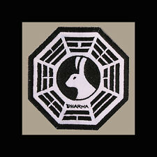 """LOST Dharma Initiative Embroidered patch """"Looking Glass"""" (No Clock)"""
