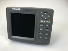 Lowrance X102C fishfinder GPS Receiver ((head & cover ,No other Accessories)