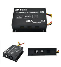 Auto Electric Convertor Invert DC 24V to DC 12V Applicable Car Monitor VCD Phone
