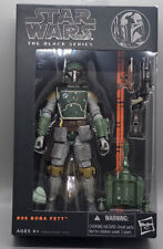 Hasbro Star Wars The Black Series Boba Fett Action Figure Orange Line