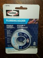 Plumbing Solder Silver Bearing Solid Wire Solder 3oz118 Lead Free 327790