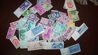 50 to 80 YEAR OLD Mint US Postage Stamp Collection in Glassine Envelopes Hoard