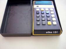 Scientific LED Calculator ELKA 131  Bulgaria 70s Green Display BulgarIan works