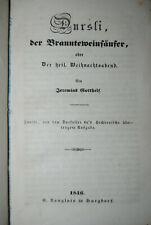 Gotthelf - 4 Werke in EA in 1 Band - 1838-1846