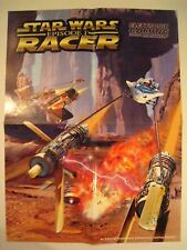 STAR WARS Episode I RACER Video Game ELECTRONIC GAMING Monthly Exclusive Poster