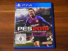 PES 2019 Pro Evolution Soccer Playstation 4 PS4 Neuwertig Komplett OVP