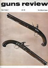 GUNS REVIEW - THREE ISSUES FROM 1970 (7 - 9)