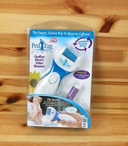 New Ped Egg Cordless Electric Callus Remover AS SEEN ON TV - 1 Pack