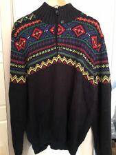 polo Ralph Lauren black nord jumper XL, BNWT