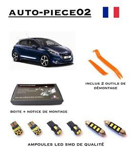 Pack FULL LED intérieur pour Peugeot 208 ( Avec plafonnier LED d'origine )