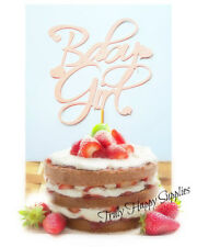 Baby GIRL cake topper è una ragazza Baby Shower-BOY 20 Glitter topper opzione