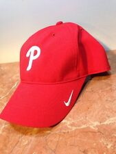 cc0d3b3d174 Nike Dri Fit Philadelphia Phillies MLB Baseball Red Women Lady Golf Sun Hat  Cap