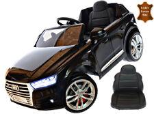 Kinderfahrzeug 12V Kinder Elektro Auto Audi Q7 EVA Gummiräder Ledersitz 2,4 GHZ