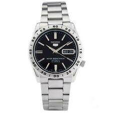 Seiko 5 Automatic Black Dial Silver Steel SNKE01K1 Mens Watch RRP £169