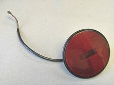 NICE USED ORIGINAL GENUINE PORSCHE 924 RED REAR SIDE MARKER LIGHT WITH HARNESS
