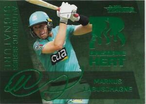 2020/21 Cricket Traders Authentic Signature Green (ASG3) Marnus LABUSCHAGNE Heat