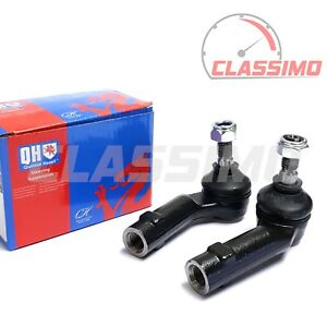 Track Tie Rod End Pair for VOLKSWAGEN POLO MK 3 6N2 + LUPO + SEAT AROSA - 98-05