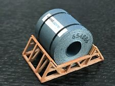 HO Scale Loads - Coil in Support Cradle - Voestalpine