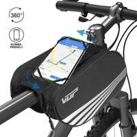 VUP® Cycling Bicycle Bike Top Front Frame Tube Bag Mobile Phone Pannier Pouch