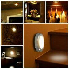 LED Luz De Pared Para Exterior E Interior Con Sensor De Movimiento Lámpara Batería Seguridad Escalera cobertizo Reino Unido
