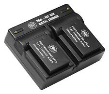 BM 2X LP-E12 Batteries & Dual Charger for Canon PowerShot SX70 HS, Rebel SL1