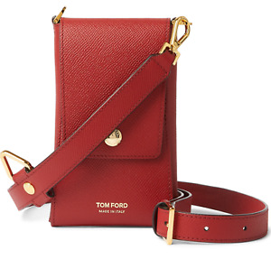 Tom Ford Smartphone Mobile Phone Bag Neck Strap Coin Purse Wallet Card Case