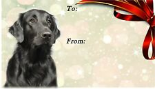 Flatcoated Retriever / Flatcoat Dog Self Adhesive Gift Labels by Starprint