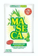 MASECA HARINA DE MAIZ / CORN FLOUR GLUTEN FREE - 4.4lbs ea - FREE PRIORITY
