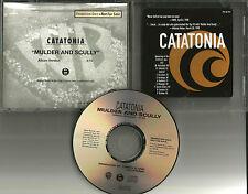 CATATONIA Mulder and Scully X FILES 1998 PROMO Radio DJ CD single PROCD 9331