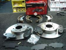 ROVER MG ZR 1.4 2.0TD MINTEX BRAKE DISCS &PADS SOLID & REAR BRAKE SHOES