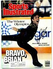 Brian Boitano signed Sports Illustrated SI Olympic gold medal ice skater
